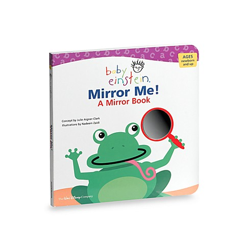 Baby einstein mirror me board book buybuy baby for Mirror books