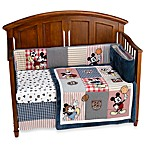 Disney Vintage Mickey 4-Piece Crib Bedding Set