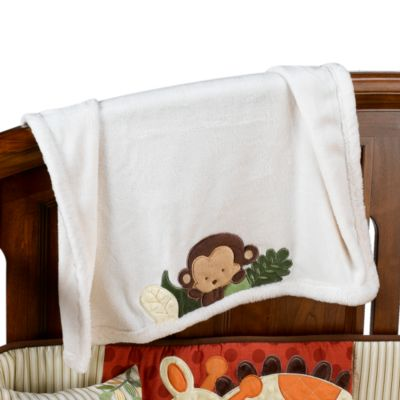 kidsline™ Jungle 1,2,3 Boa Blanket