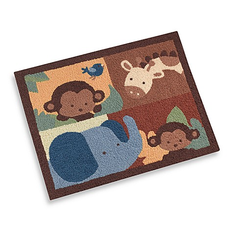 kidsline™ Jungle 1,2,3 Decorative Nursery Rug