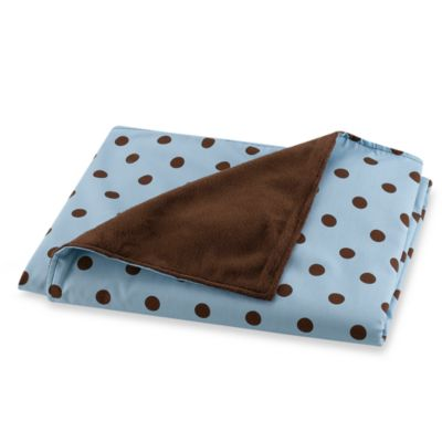 Max Brown Dot Blanket