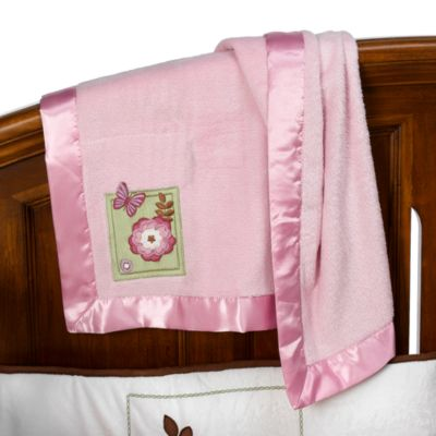 NoJo® Emily Coral Fleece Blanket