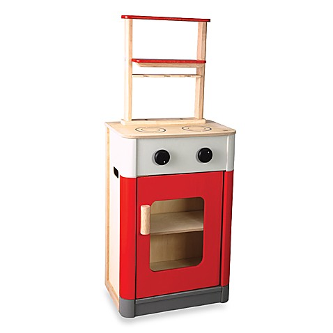 Plan Toys® Red Kitchen Play Set