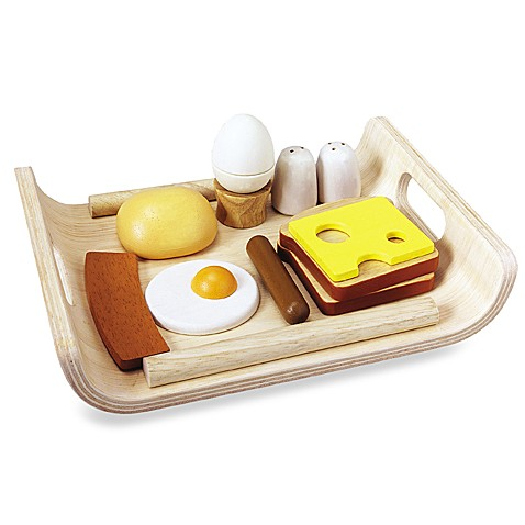 Plan Toys® Breakfast Menu Play Set