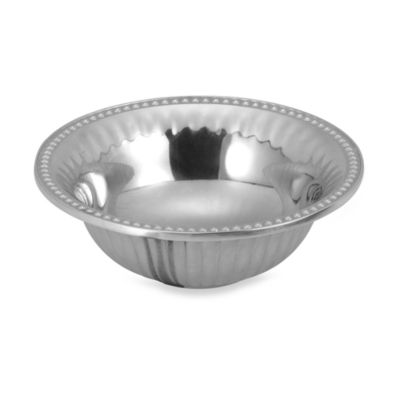 Wilton Armetale® Flutes and Pearls 6-Inch Dipping Bowl