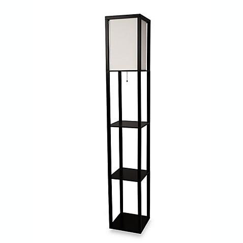 etagere floor lamp bed bath beyond. Black Bedroom Furniture Sets. Home Design Ideas