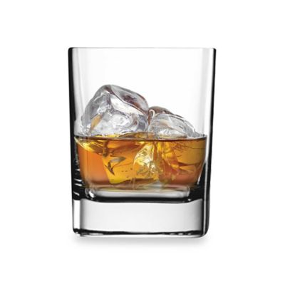 Luigi Bormioli Strauss Square 11 3/4-Ounce Double Old Fashioned Glass (Set of 6)