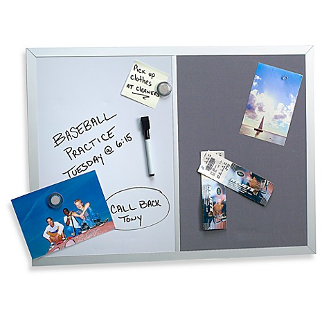 Magnetic Dry-Erase Combo Board