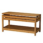 Bamboo Storage Bench