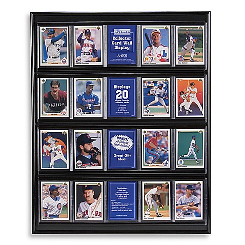 Collector Card Resin Wall Display