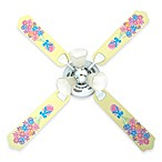 Flower Bouquet Ceiling Fan by Sweet Pea Gallery