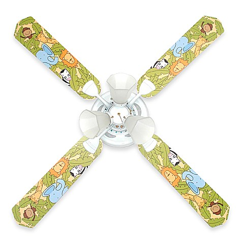 Jungle Animals Ceiling Fan by Sweet Pea Gallery