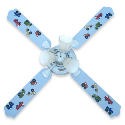 Trucks Ceiling Fan by Sweet Pea Gallery
