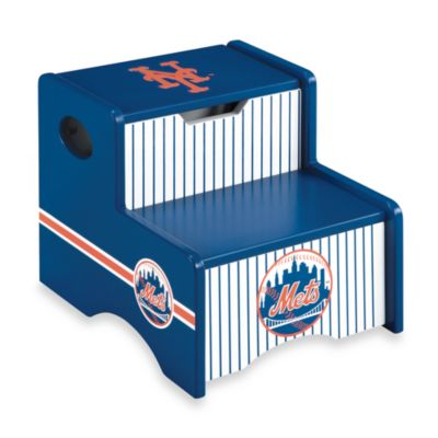 Major League Baseball Mets Storage Step-Up