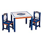 Major League Baseball Mets Table and Chairs Set