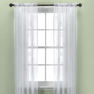 Croscill® Sanibel Island 95-Inch Sheer Panel