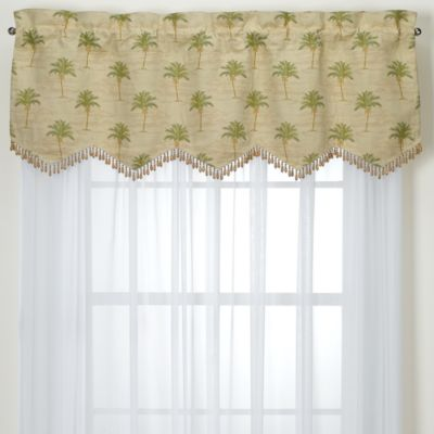Tan Decorating Window Treatment