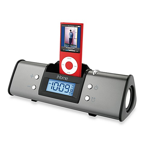 ihome ipod alarm clock and speaker system this speaker system charges