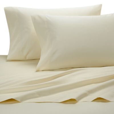 1000 Sateen Solid Full Sheet Set in Ivory