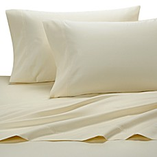 1000 Sateen Solid King Pillowcases in Ivory (Set of 2)