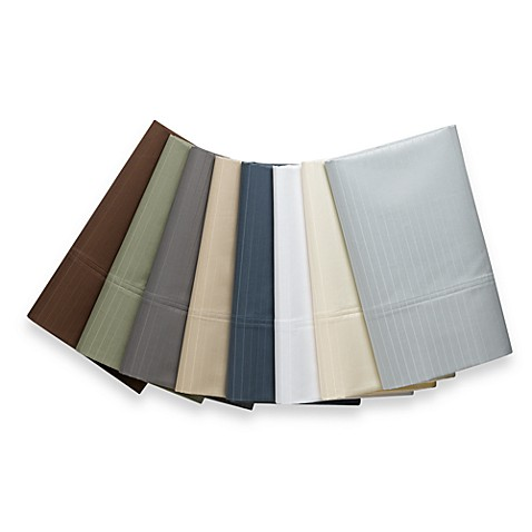 Wamsutta® 1000 Sateen Stripe Queen Sheet Set