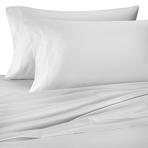 Wamsutta® 1000 Sateen Stripe Standard Pillowcase (Set of 2)