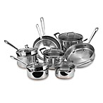 Emerilware Stainless Steel 14-Piece Cookware Set