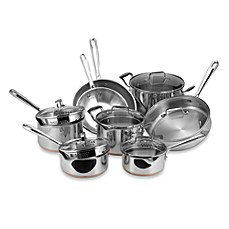 Emerilware Stainless Steel 14-Piece Cookware Set and Open Stock