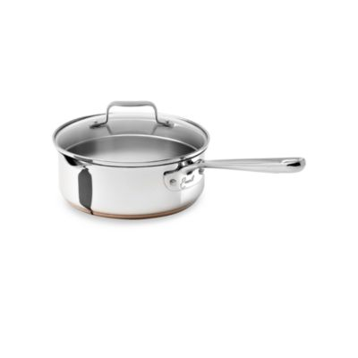 Emerilware Stainless Steel 2-Quart Saute Pan with Lid