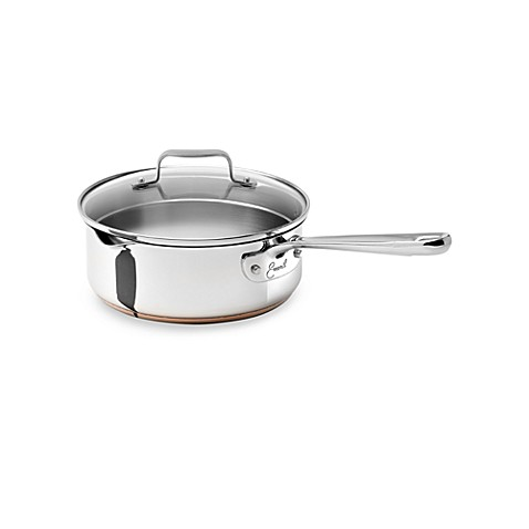 Emerilware Stainless Steel 2-Quart Saucepan with Lid