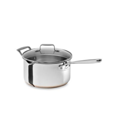 Emerilware Stainless Steel 4-Quart Saucepan with Lid