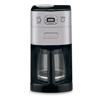 Cuisinart Automatic Grind And Brew Coffee Maker Problems : Cuisinart Grind & Brew 12-Cup Automatic Coffee Maker - www.BedBathandBeyond.com