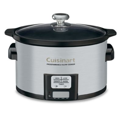 Cuisinart® 3.5 Quart Programmable Slow Cooker