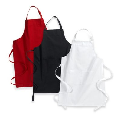 Kitchensmart® Solid Apron in Red
