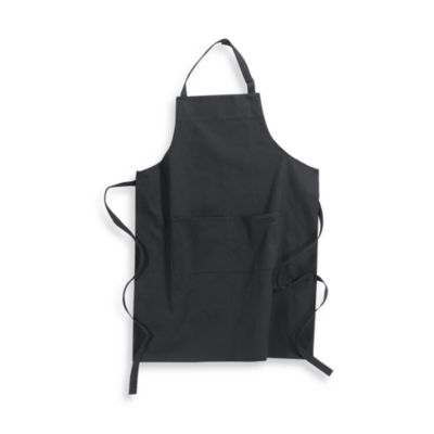 Kitchensmart® Solid Apron in Black