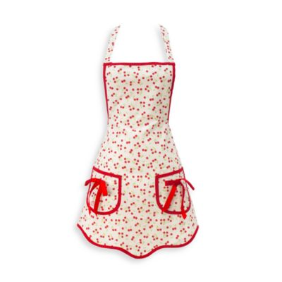 Cherries Hostess Apron by JS Home™