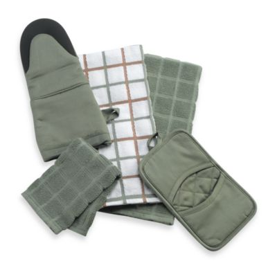 Kitchensmart® Solid Oven Mitt in Fern