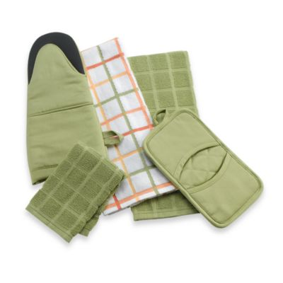 Kitchensmart® Solid Oven Mitt in Garden