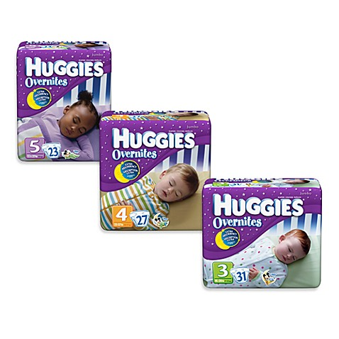 Huggies® Overnites® Jumbo Pack Stage 3 Disposable Diapers (31 Count)