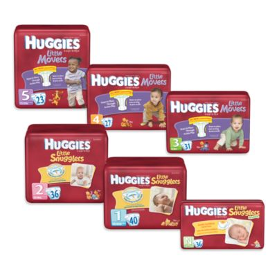 Huggies® Supreme Little Snugglers Jumbo Pack Newborn 36-Count Disposable Diapers