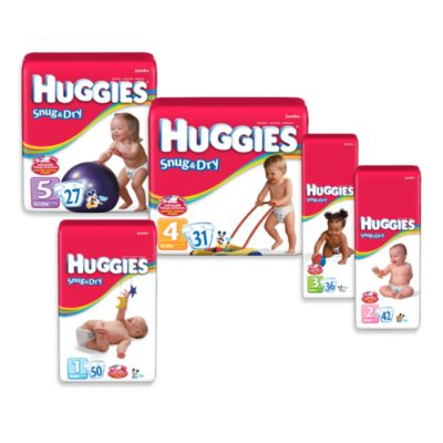 Huggies® Snug & Dry Jumbo Pack Stage 2 42-Count Disposable Diapers