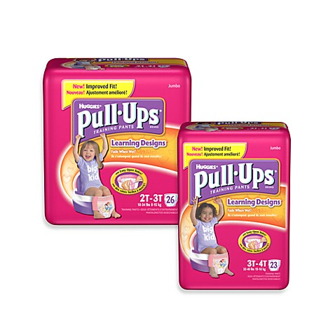 Pull-Ups® Learning Designs® Disposable Girl's Training Pants