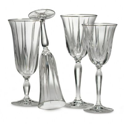 Noritake® Vendome Platinum Crystal 7-Ounce Wine