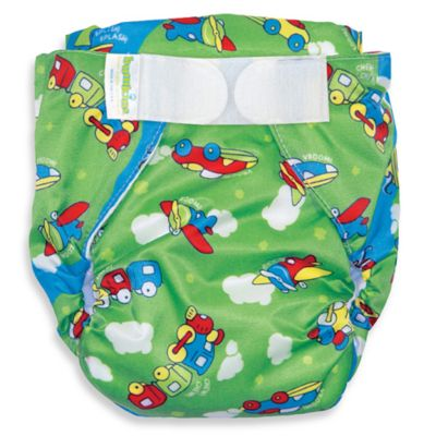 Bumkins® All-in-One Medium Cloth Diaper in Cars
