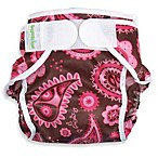 Bumkins® Waterproof Large Diaper Cover Pink Paisley