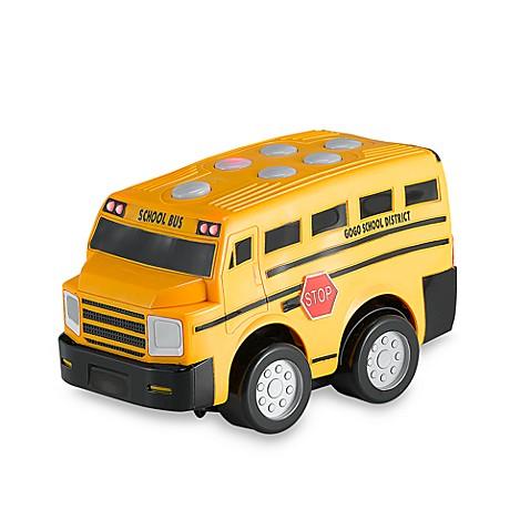 Kid Galaxy® Press N Go School Bus