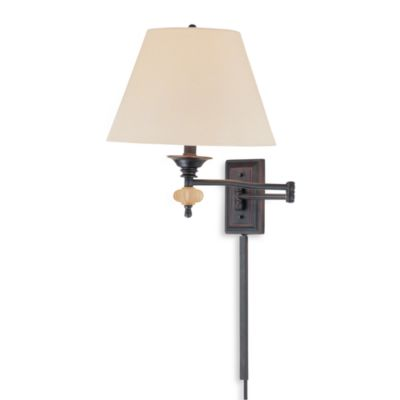 Wall Lamps Bed Bath Beyond : Nagizio Swing Arm Wall Lamp - Bed Bath & Beyond