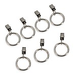 Cambria Lily Glass Clip Rings (Set of 7)