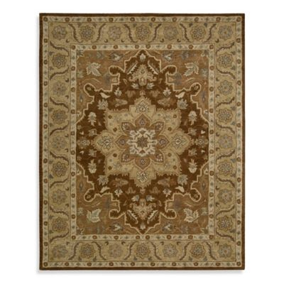 India House Rug in Chocolate