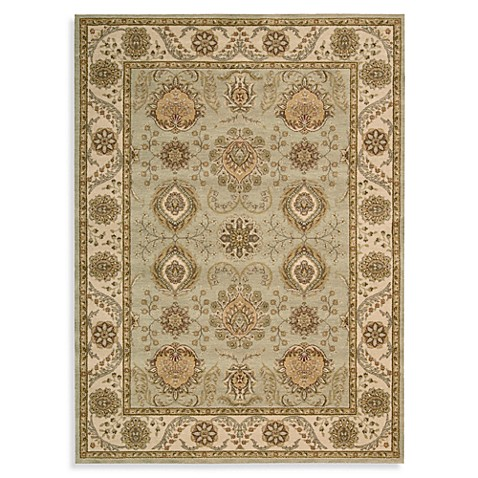 Alexandria 6-Foot 6-Inch x 7-Foot 5-Inch Room Size Rug in Green